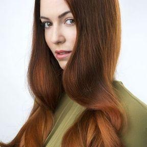 Cheveux ondulés par Vania Laporte printemps été 2016 L'Oréal Professionnel