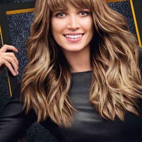 Coupe de cheveux long ondule