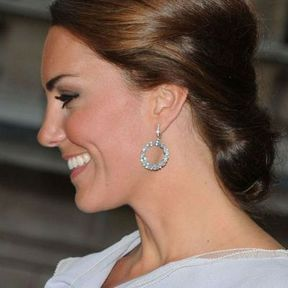 Le chignon bas de Kate Middleton