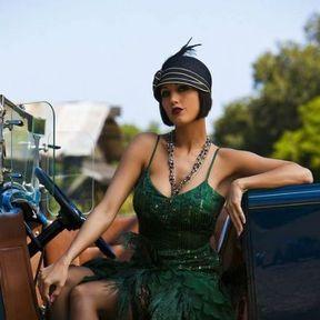 luxuriant dans la conception style classique de 2019 meilleure vente Coiffure années 20 avec un chapeau -Coiffure années 20 : 15 ...
