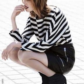 Idée de coiffure avec frange automne-hiver 2016 @ Jean-Louis David