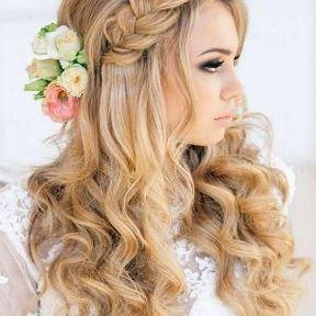 Modèle coupe sur cheveux longs