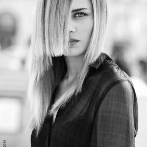 Cheveux mi-longs automne-hiver 2016 @ Jean-Louis David