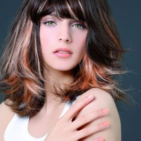 Coiffure cheveux mi-longs automne-hiver 2016 @ Biguine