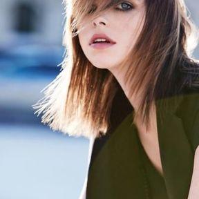 Modèle coiffure cheveux mi-longs automne-hiver 2016 @ Jean-Louis David