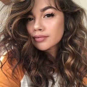 Ombré hair avec boucles