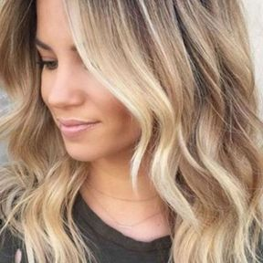 L'ombré hair et waves