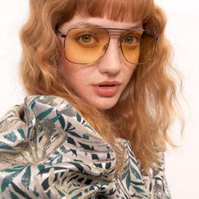 Crimped hair avec frange