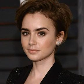 Le bob ultra-court de Lily Collins