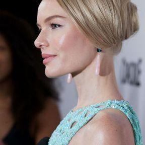 Le chignon discret de Kate Bosworth