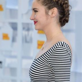 Le chignon-tresse de Shailene Woodley