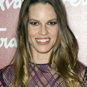 Le brushing raplapla d'Hilary Swank
