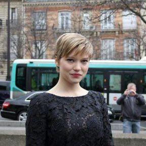 La coupe à la Twiggy de Léa Seydoux
