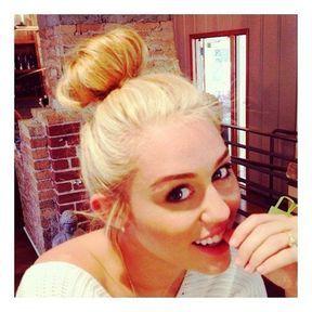 Le blond platine de Miley Cyrus