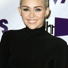 La coiffure Punk de Miley Cyrus