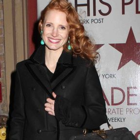 La coiffure side-hair de Jessica Chastain