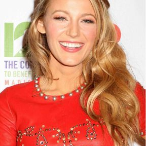 La demi-queue glamour de Blake Lively