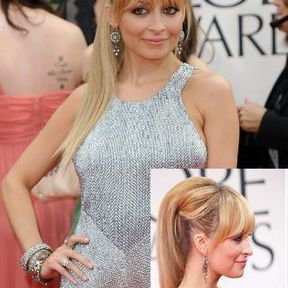 La queue de cheval glamour de Nicole Richie