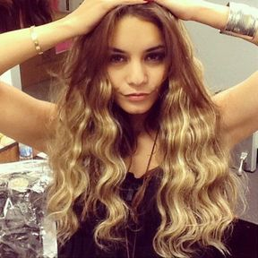 Le blond de Vanessa Hudgens