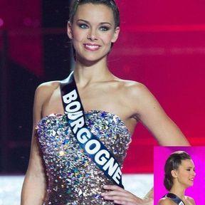 Le chignon tradi de Miss France 2013