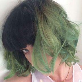 Les cheveux verts de Katy Perry