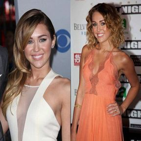 Miley Cyrus craque pour le carré ombré