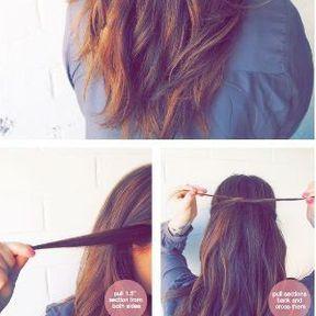 Le noeud dans les cheveux