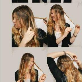 Les nattes sur cheveux longs