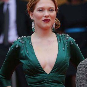 Le chignon glamour de Léa Seydoux (2014)