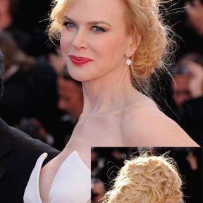 Le chignon tressé de Nicoles Kidman (2013)
