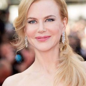 La queue de cheval basse de Nicole Kidman (2014)