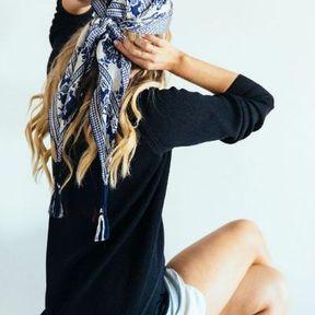 Coiffures foulard pirate