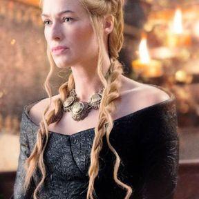 Le chignon torsadé de Cersei Lannister