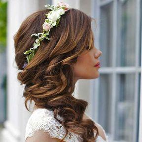 Headband pour un mariage