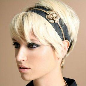Headband sur cheveux courts