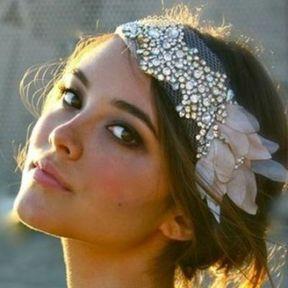 Un headband façon romantique