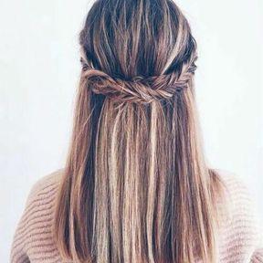 Coiffure hiver 2018 cheveux mi-longs