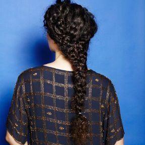 Coiffure hiver 2018 pour cheveux bouclés