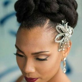 coiffure mariage chignon haut avec tresse. Black Bedroom Furniture Sets. Home Design Ideas