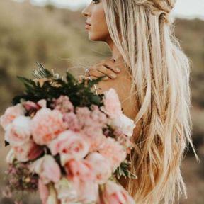 La coiffure de mariage bohème