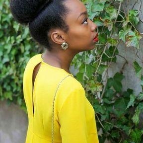 Un chignon pour les cheveux afros