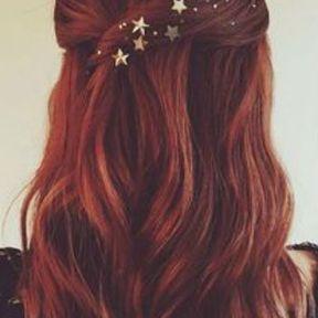 Des étoiles dans les cheveux