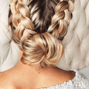 Une coiffure branchée