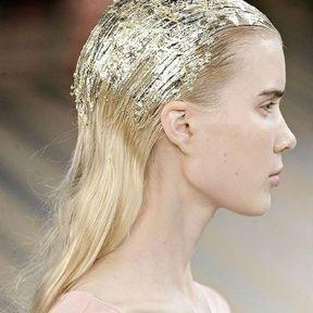 Une coiffure en or