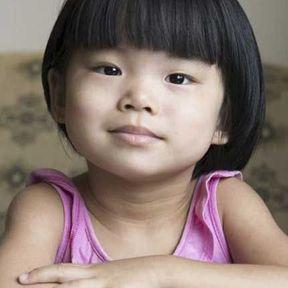 Coupe de cheveux pour petite fille