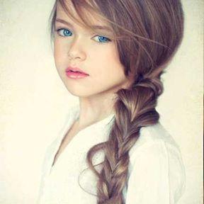 Idée coiffure petite fille