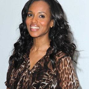 Kerry Washington : curly