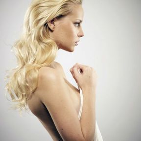 Coloration cheveux blond clair Eric Bachelet L'Oréal Professionnel 2014