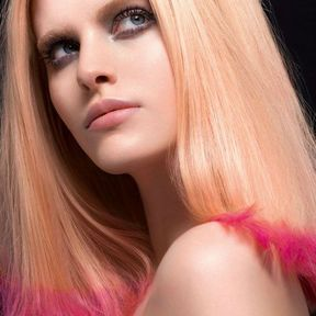 Coloration cheveux blond miel Claude Tarantino L'Oréal Professionnel 2014