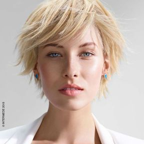 Coloration cheveux blonde printemps-été 2015 @ Intermede